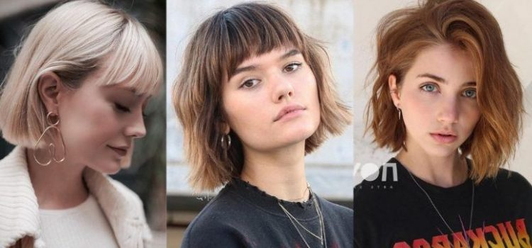 How to Style a Short Bob With Bangs?